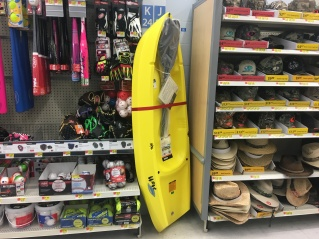 They found another spot to jam a kids kayak for $88. Costco has another brand's version for $99.